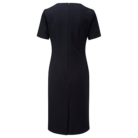 Buy Viyella Textured Dress, Navy Online at johnlewis.com
