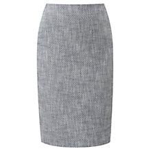 Buy Viyella Tweed Pencil Skirt, Grey Online at johnlewis.com