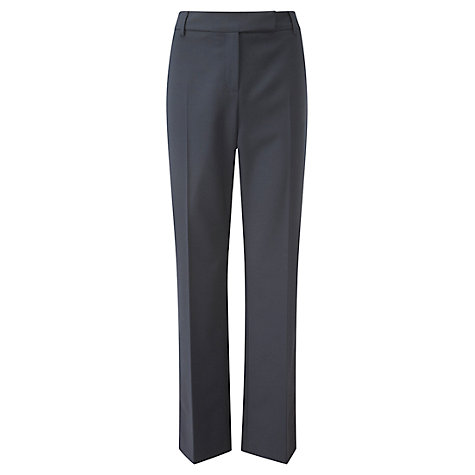 Buy Viyella Straight Leg Trousers, Navy Online at johnlewis.com