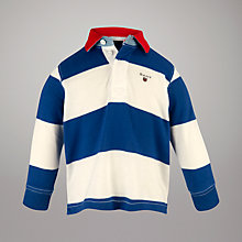 Buy Gant Long Sleeved Striped Rugby Shirt Online at johnlewis.com