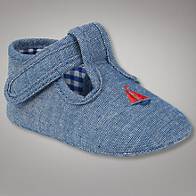 Buy John Lewis Baby Boat T-Bar Shoes Online at johnlewis.com