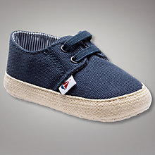 Buy John Lewis Baby Canvas Espadrilles Online at johnlewis.com