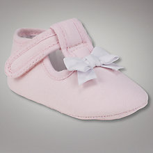 Buy John Lewis Baby Layette T-Bar Shoes Online at johnlewis.com