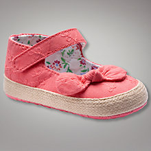 Buy John Lewis Baby Mary Jane Espadrilles Online at johnlewis.com