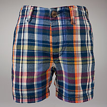 Buy Gant Chino Checked Short, Multi Online at johnlewis.com