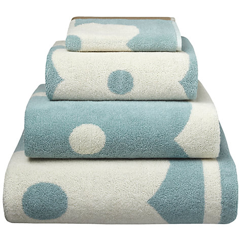Buy Anorak Kissing Robins Towels, Blue Online at johnlewis.com
