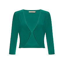 Buy John Lewis Knitted Shrug, Jade Online at johnlewis.com
