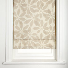 Buy John Lewis Woodland Putty Roman Blinds Online at johnlewis.com