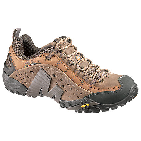 Buy Merrell Intercept Trainers, Brown Online at johnlewis.com