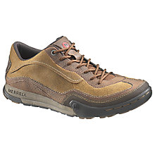 Buy Merrell Mountain Leather Trainers, Dark Earth Online at johnlewis.com