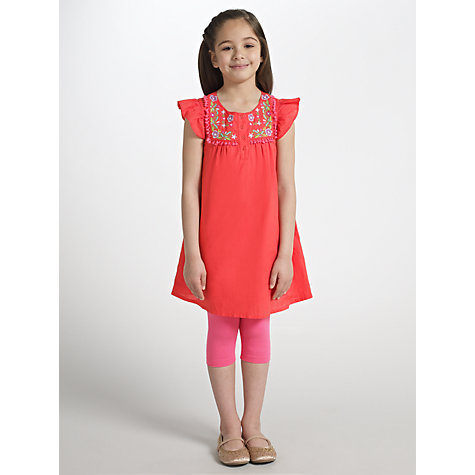 Buy John Lewis Girl Embroidered Tunic and Leggings Set Online at johnlewis.com