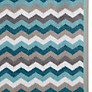 Buy John Lewis Zig Zag Towels, Blue Multi Online at johnlewis.com