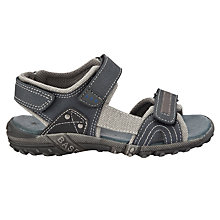 Buy John Lewis Boy Sports Trekker Sandals, Grey Online at johnlewis.com