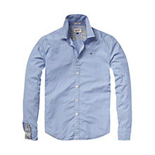 Buy Hilfiger Denim Thomas Long Sleeve Stripe Shirt, Deep Colbalt Online at johnlewis.com