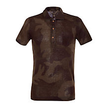 Buy Diesel T-Canoa Camo Polo Shirt Online at johnlewis.com