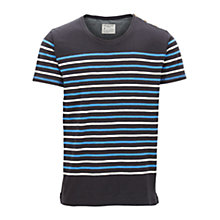 Buy Selected Homme Plymouth Stripe T-Shirt Online at johnlewis.com