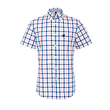 Buy Lyle & Scott Short Sleeve Multi Check Shirt Online at johnlewis.com