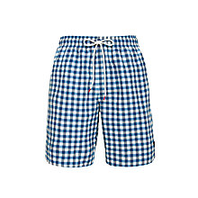 Buy Lyle & Scott Spezia Gingham Swim Shorts Online at johnlewis.com