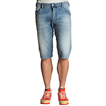 Buy Diesel Kroshort 887Y Denim Shorts Online at johnlewis.com