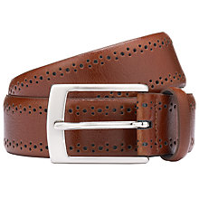 Buy John Lewis Brogue Belt Online at johnlewis.com