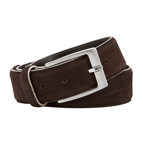 Buy John Lewis Nubuck Suede Belt Online at johnlewis.com