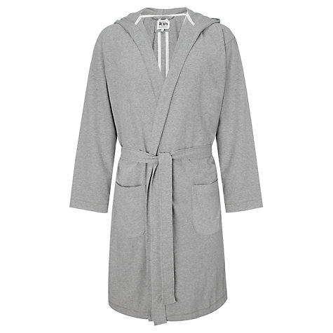 Buy Kin by John Lewis Marl Jersey Robe Online at johnlewis.com