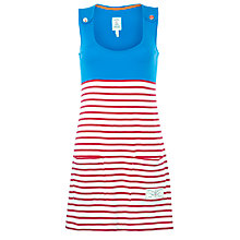Buy Joules Kiri Stripe Jersey Dress, Blue/Red Online at johnlewis.com