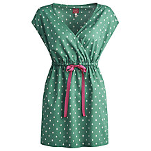 Buy Joules Tayla Polka Dot Kaftan, Apple Online at johnlewis.com