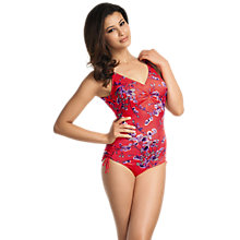 Buy Fantasie Kyotoa Underwired Swimsuit, Pink Online at johnlewis.com