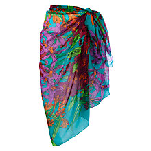 Buy John Lewis Tropical Garden Sarong, Multi Online at johnlewis.com