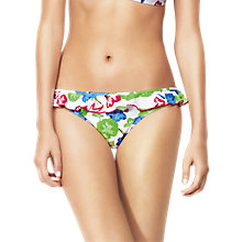 Buy Huit Cabana Club Bikini Briefs, Papaye Online at johnlewis.com