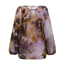 Buy Kaliko Clemetis Printed Blouse, Multi Online at johnlewis.com