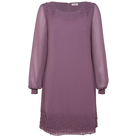Buy Kaliko Petal Tunic Dress, Purple Online at johnlewis.com