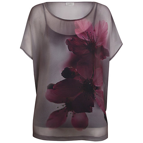 Buy Kaliko Blossom Top, Purple Online at johnlewis.com