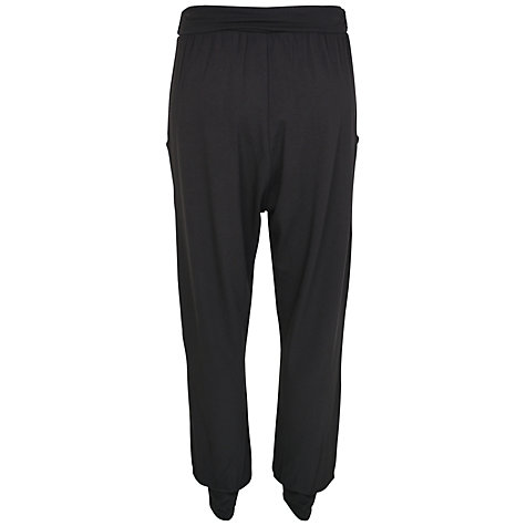Buy Kaliko Jersey Harem Trousers, Dark Grey Online at johnlewis.com
