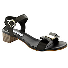 Buy COLLECTION by John Lewis Freida Leather Bow Detail Sandals Online at johnlewis.com