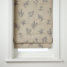 Buy John Lewis Botanist Herb Roman Blind Online at johnlewis.com