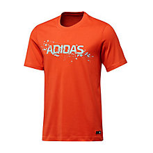 Buy Adidas Essentials Liquid Lineage T-Shirt Online at johnlewis.com