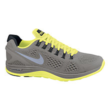 Buy Nike Men's LunarGlide+ 4 Running Shoes Online at johnlewis.com