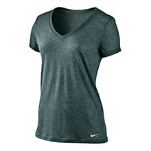 Buy Nike Dri-FIT Short Sleeve V-Neck T-Shirt Online at johnlewis.com