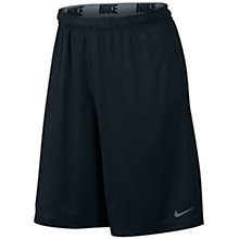 Buy Nike Fly Running Shorts, Black Online at johnlewis.com