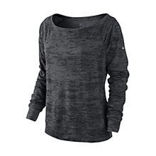 Buy Nike Epic Crew Neck Top, Grey Online at johnlewis.com