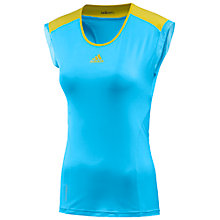 Buy Adidas Women's AdiZero Cap Sleeve Top Online at johnlewis.com