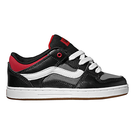 Buy Vans Baxter Trainers, Black/Chilli Online at johnlewis.com