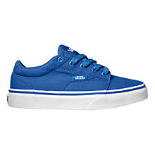 Buy Vans Kress Trainers, Bright blue Online at johnlewis.com