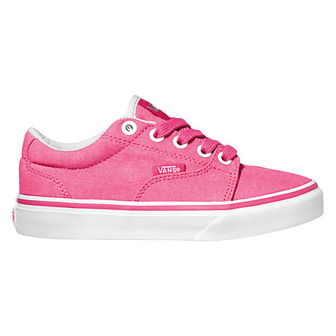 Buy Vans Kress Trainers, Magenta Online at johnlewis.com