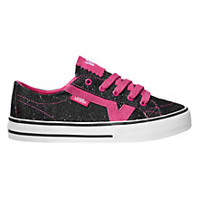 Buy Vans Tory Trainers, Magenta/Black Online at johnlewis.com