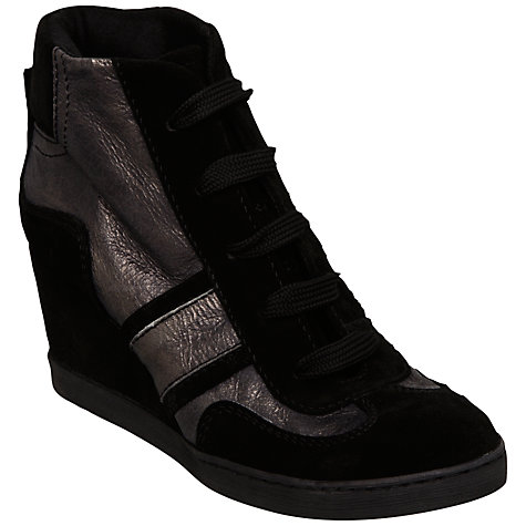 Buy Bertie Port Suede Wedge Boots Online at johnlewis.com