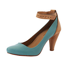 Buy J Shoes Laurel Leather Ankle Strap Court Shoes Online at johnlewis.com