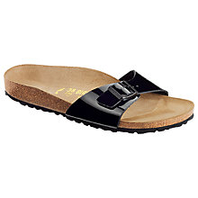 Buy Bikenstock Madrid Leather Sandals Online at johnlewis.com